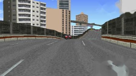 PS1 山脊赛车革命 上级赛道