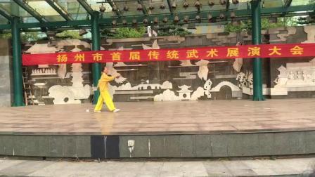 扬州武术协会—杨椿庭老师传统武术双鞭