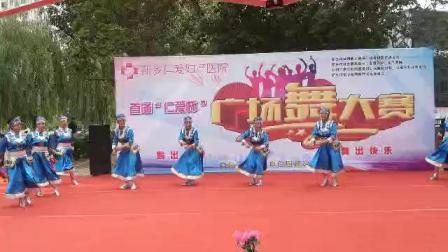 鸿雨舞蹈队舞蹈:奔腾