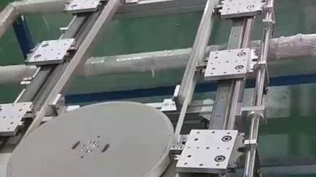 库比克多工位环形导轨输送线体