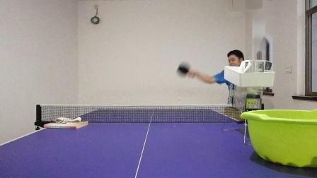 【自学乒乓球】正手侧身拉下旋20190619_183508