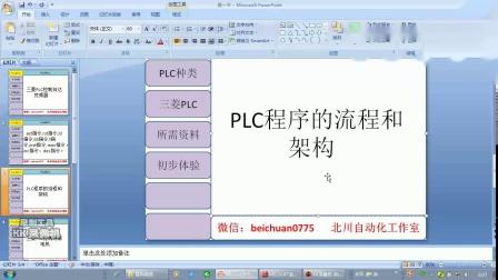 三菱PLC控制伺服电机应用实例01