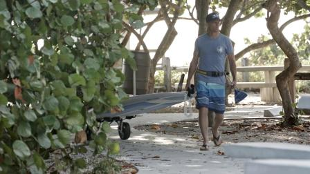 BIC SUP Trolley - Stand Up Paddleboard Transportation