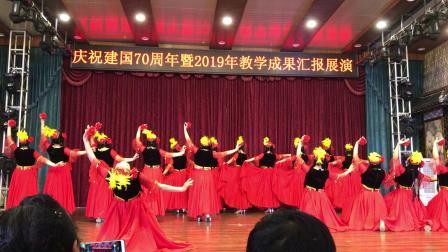 新疆舞《丝路红》成都锦江老年大学三班