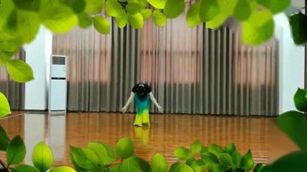 傣族舞:月色,兰花草习练,
