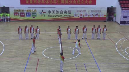 柔力球竟技《中国范儿》龙泉老年体协柔力球竟技队2019.6.27.红双喜拍摄