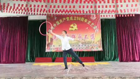 湖南永州友爱广场演出版