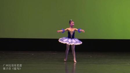 广州哪里学芭蕾最好?加拿大青少年舞蹈大赛广州比邻星芭蕾《蓝鸟》