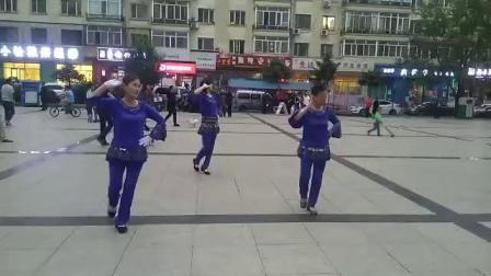哈尔滨金色阳光广场舞《站着等你三千年》_录制_李冬梅