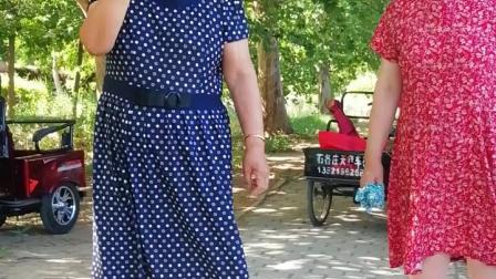 《报花名》黄姐,李姐在石各庄公园演唱