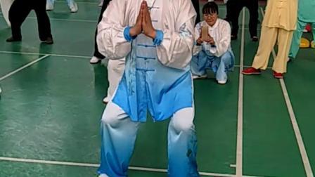 张秀江老师讲授健身气功大舞