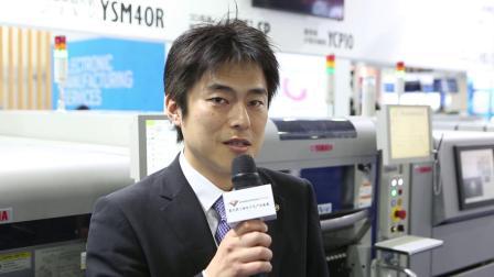 雅马哈发动机智能机器(苏州)有限公司 @慕尼黑上海电子生产设备展 productronica China