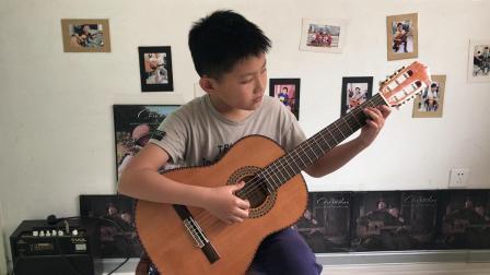 8音吉他学生华梓洋演奏古典吉他~过往