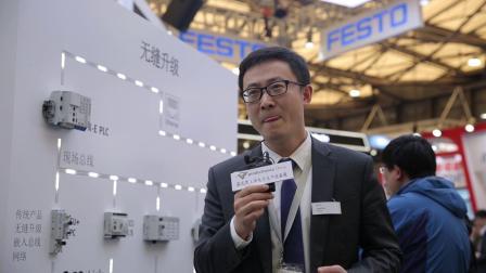 FESTO采访 @慕尼黑上海电子生产设备展 productronica China