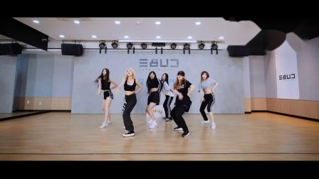 (G)I-DLE-uh oh练习室镜面
