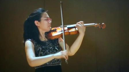 女儿小提琴我爱你中国