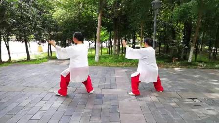 (20190706)练习武当十三式(冷月 王超)