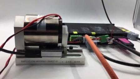 山社直驱电机系列产品音圈电机高速测试演示