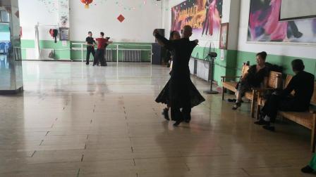 我的华尔兹练舞视频