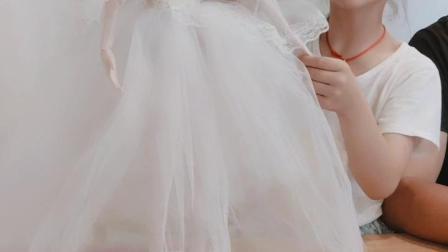 手工芭比娃娃60厘米叶罗丽婚纱娃娃