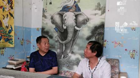 CCTV牛恩发现之旅:走近中国大象画第一人:刘星辰(北京平谷)。