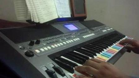 在心里从此永远有个你  电子琴670
