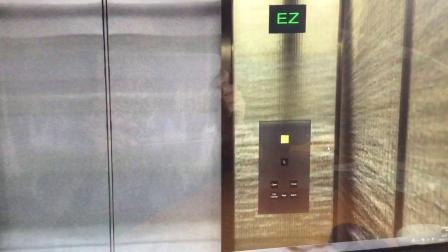 Skyscraper Triton Center 3 高速电梯(L/F-113/F)