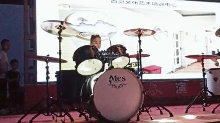 江南style   架子鼓表演