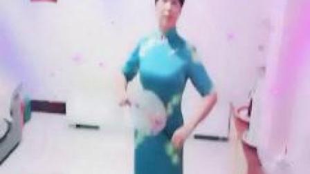 湖南永州友爱广场旗袍秀《好一朵女人花》演示爱丽