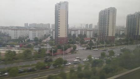 G7690次,江宁至南京南站。