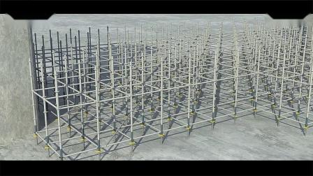 60体系盘扣式脚手架桥梁模架系统施工参考步骤【超清视频】