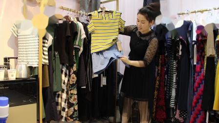 2019年最新精品女装批发服装批发时尚服饰时尚女士新款夏装套装两件套特价20件起批,视频款可挑款零售混批