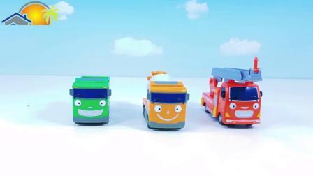 面包车,消防车,货车开箱,你最喜欢哪个呢?