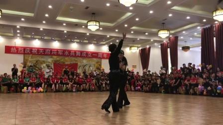 羽新与冰红茶表演陶然水兵舞第十三套《湘之梦》