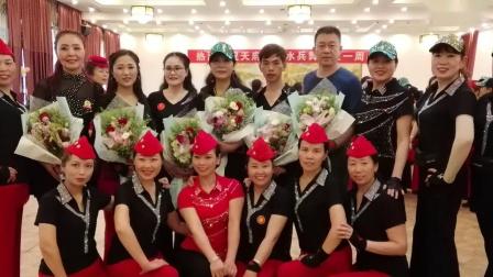 天府川军水兵舞表演陶然水兵舞第十五套《彩云之南》