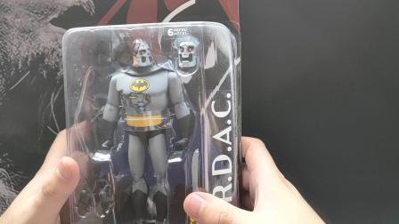 卡门模玩店模型手办评测第39期 DC蝙蝠侠新冒险机械蝙蝠侠