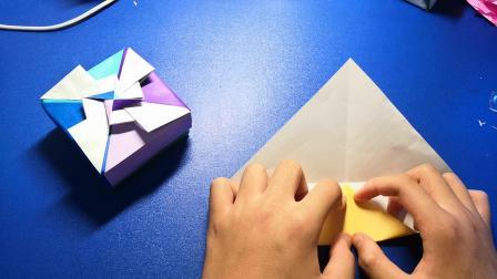 [折纸教程]  之  风车盒子的折法 (1)