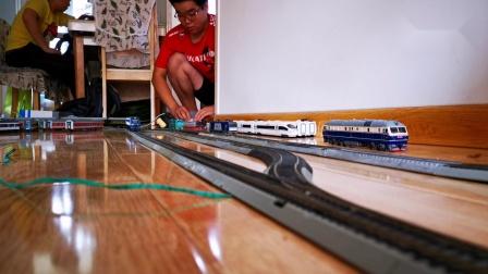 【火车模型视频-7.20 火车模型运转会】阜新站车迷候车室-147 模型世界