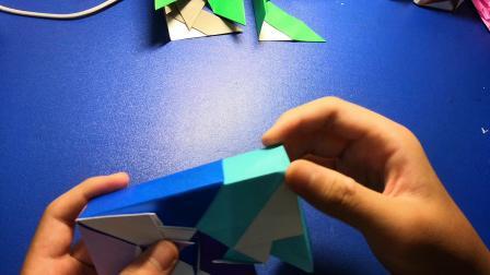 [折纸教程]  之  风车盒子的折法 (2)