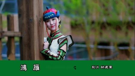 《 鸿 雁 》MV 内蒙乌拉特民歌 吕燕卫词 张宏光曲 演唱 呼斯楞