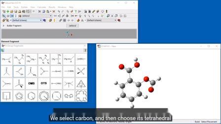 GaussView 6中的基本分子构建