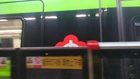 南京地铁三号线(001002)林场折返,(069070)出林场站。
