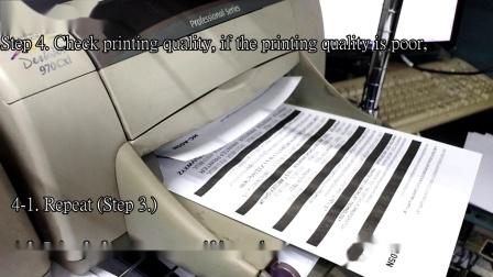 TIJ 2.5 (HP 45 cartridge) Empty Ink Jet Filling Instruction