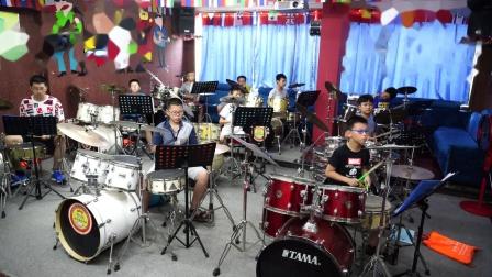 音皇爵士鼓演奏孩子们超爱的《火影 GO》