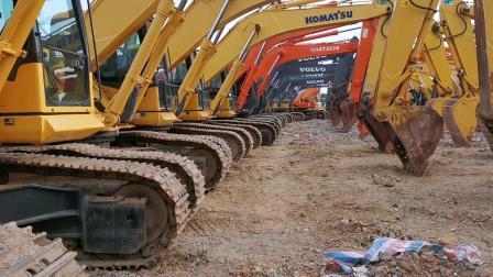 目前市场小松360二手挖掘机大概什么价格