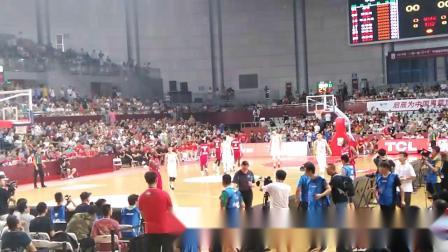 中喀国际男篮对抗赛第二场(1)