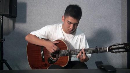 卡马杯第二届全国原声吉他大赛初赛 王星智 《LANDSCAPE》