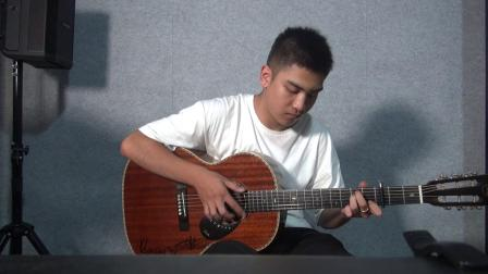 Saga吉他第七届山西省吉他大赛·网络赛 王星智《LANDSCAPE》