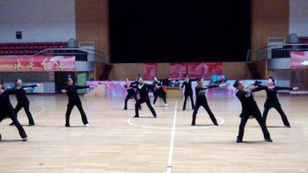国家级社会指导员培训班(山西大学)广场舞展示2015年10月31日