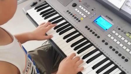 《土耳其进行曲》电子琴十级曲